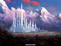 diaporama pps Fantasy castle