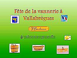 diaporama pps Fête de la vannerie à Vallabrègues