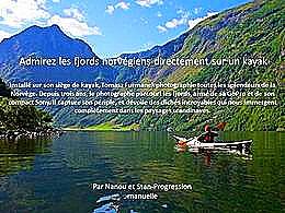 diaporama pps Fjords en Kayak