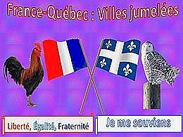 diaporama pps France Québec – Villes jumelées