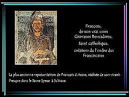 diaporama pps François d'Assise