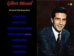 diaporama pps Gilbert Bécaud III
