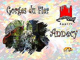 diaporama pps Gorges du fier – Annecy