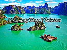 diaporama pps Ha Long Bay Vietnam