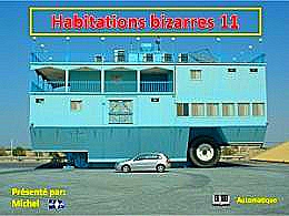 diaporama pps Habitations bizarres 11
