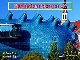diaporama pps Habitations bizarres 13