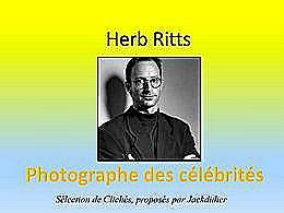 diaporama pps Herb Ritts photographe des célébrités