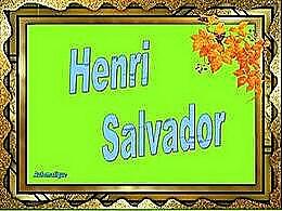 diaporama pps Hommage à Henri Salvador