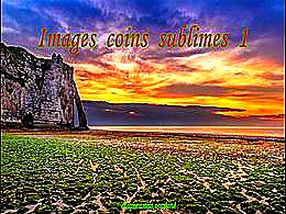 diaporama pps Images coins sublimes 1