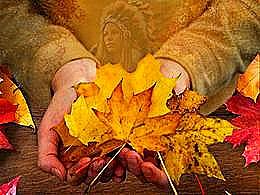 diaporama pps Je suis l'automne quand