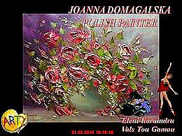 diaporama pps Joanna Domagalska – Polish painter