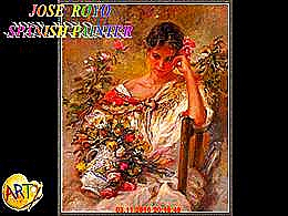 diaporama pps José Royo 1941 spanish painter