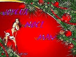 diaporama pps Joyeux Noël Man