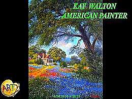 diaporama pps Kay Walton american painter