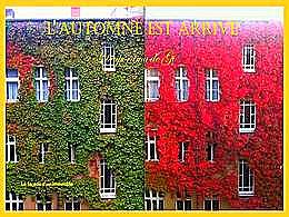 diaporama pps L'arrivée de l'automne