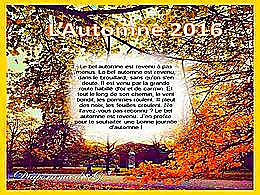 diaporama pps L'automne 2016