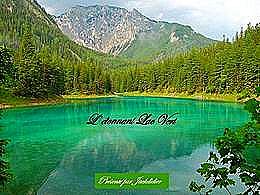 diaporama pps L'étonnant lac vert