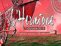 diaporama pps L'Hermione à Bordeaux