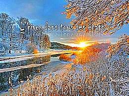 diaporama pps L'hiver dans tous ses états