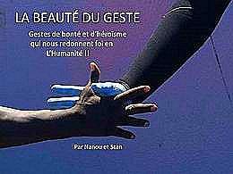 diaporama pps La beauté du geste