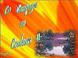 diaporama pps La campagne en couleurs II