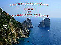 diaporama pps La côte Amalfitaine – Capri Italie