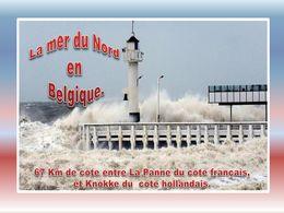 diaporama pps Côte de la mer du nord en Belgique