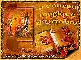 diaporama pps La douceur magique d'octobre