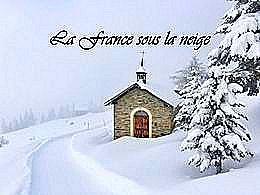 diaporama pps La France sous la neige