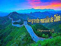 diaporama pps La grande muraille de Chine