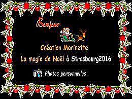 diaporama pps La magie de Noël à Strasbourg