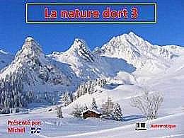 diaporama pps La nature dort 3