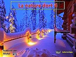 diaporama pps La nature dort 4
