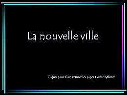 diaporama pps La nouvelle ville