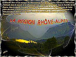diaporama pps La région Rhône Alpes