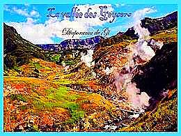 diaporama pps La vallée des geysers