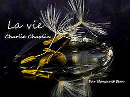 diaporama pps La vie – Charlie Chaplin