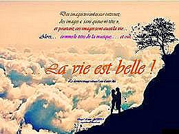 diaporama pps La vie est belle