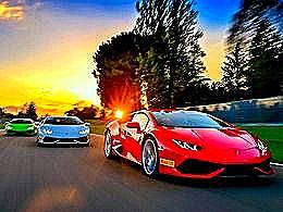 diaporama pps Lamborghini girls