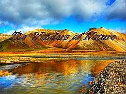 diaporama pps Landmannalaugar Iceland