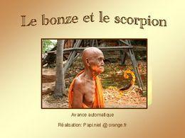 diaporama pps Le bonze et le scorpion