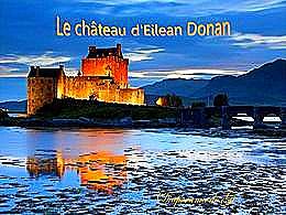 diaporama pps Le château d'Eilean Donan