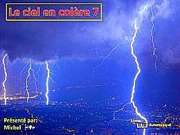 diaporama pps Le ciel en colère 7