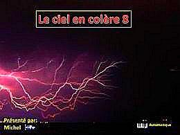 diaporama pps Le ciel en colère 8