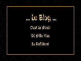 diaporama pps Le blog – Miroir ou mille vies se reflètent