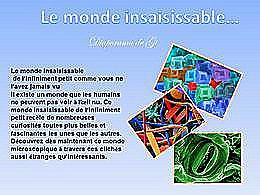diaporama pps Le monde insaisissable