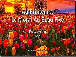 diaporama pps Au printemps le moral au beau fixe