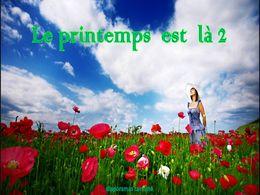 diaporama pps Le printemps est là 2