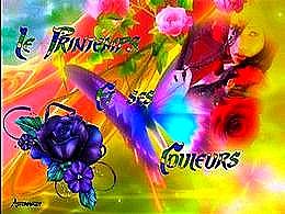 diaporama pps Le printemps et ses couleurs