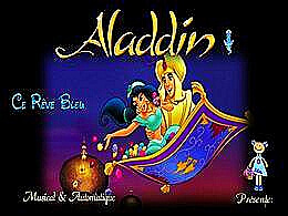diaporama pps Le rêve bleu Aladdin